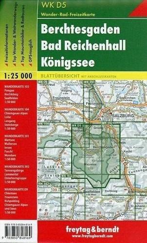 Mapa Turisticka Mapa Berchtesgaden